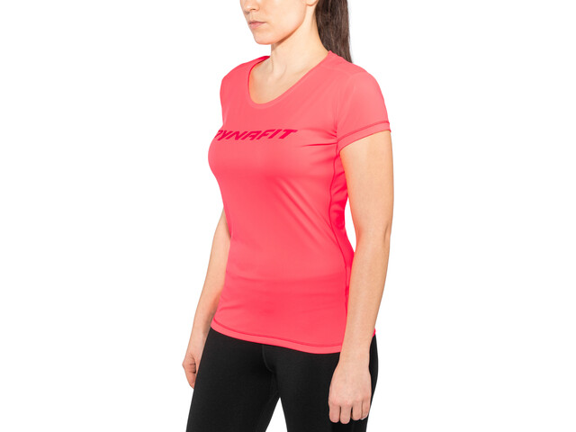 Dynafit W's Traverse SS Tee fluo coral